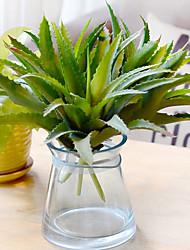 1 Větev Polyester Sukulentní rostliny Květina na stůl Umělé květiny