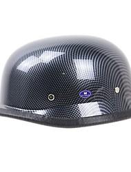 cheap -Authentic Zombies Racing half helmet motorcycle helmet Harley German outdoor riding helmet style carbon fiber of World War II