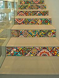 Недорогие -Мода Геометрия Наклейки 3D наклейки Декоративные наклейки на стены, Винил Украшение дома Наклейка на стену Стена