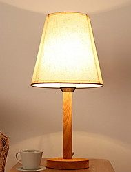 cheap -Simple Eye Protection Table Lamp For Wood/Bamboo 220V Dark Yellow
