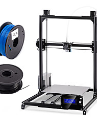 cheap -Flsun 300*300*420mm DIY 3d Printer Kit Large Printing Area  Auto Leveling Heated Bed Two Rolls Filament