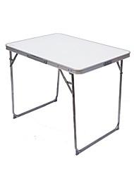 Недорогие -Туристический стол На открытом воздухе Складной Aluminum Alloy для Походы - Белый