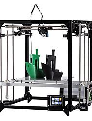 Недорогие -flsun-f2 diy 3d комплект принтера большой размер печати 260 * 260 * 350 мм сенсорный экран автоуровень с подогревом одна рулонная нить