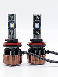 Недорогие -SO.K 2pcs Автомобиль Лампы Интегрированный LED 2 Налобный фонарь Все года