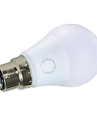 abordables -GMY® 1pc 7W 560/600 lm B22 Ampoules Globe LED A60(A19) 7 diodes électroluminescentes SMD Lampe LED Blanc Chaud Blanc Froid AC 220-240V