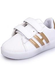 Dívčí Obuv PU Jaro Podzim Svítící boty Tenisky LED pro Ležérní Zlatá Černá Červená