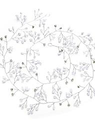 baratos -Cristal Imitação de Pérola Strass Headbands 1pç Casamento Ocasião Especial Capacete