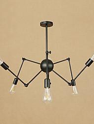 abordables -6 lumières Lustre Lumière d'ambiance - Style mini, 110-120V / 220-240V Ampoule non incluse / 15-20㎡ / E26 / E27