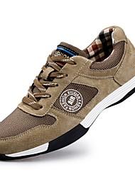 Недорогие -Для мужчин обувь Натуральная кожа Дышащая сетка Замша Весна Осень Удобная обувь Обувь для дайвинга Спортивная обувь Для фитнеса для