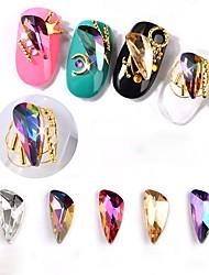 preiswerte -Strasssteine andere bunte Nail Art Design