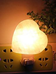 cheap -YouOKLightWarm White Natural Himalayan Globe Sphere Salt Lamp Night Light Decoration Air Purifying US Plug