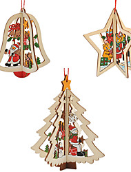 Noël Soirée Bois Décorations de Mariage Vacances Thème de conte de fées Romance Printemps, Août, Hiver, Eté