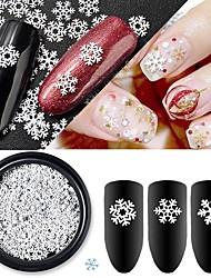 Недорогие -1 Пайетки Классика Высокое качество Повседневные Дизайн ногтей