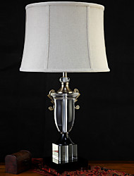 Luz Descendente Artistíco Luminária de Mesa Proteção para os Olhos Interruptor On/Off Alimentação AC 220V Cinza Escuro
