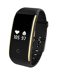 cheap -Smart Bracelet YY-V9 for Android 4.4 / iOS Blood Pressure Measurement / Pedometers / Calories Burned / Exercise Record / APP Control Pulse Tracker / Pedometer / Activity Tracker / Sleep Tracker