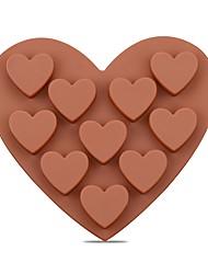 رخيصةأون -1PC جيل سيليكا أداة الخبز المطبخ الإبداعية أداة كعكة لالشوكولاته قوالب الكيك أدوات خبز