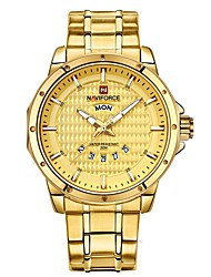 cheap -Men's Children's Wrist watch Dress Watch Fashion Watch Japanese Quartz Calendar / date / day Chronograph Water Resistant / Water Proof