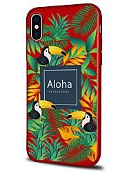 billige -Etui Til Apple iPhone X iPhone 8 Plus Mønster Bagcover Landskab Dyr Blødt TPU for iPhone X iPhone 8 Plus iPhone 8 iPhone 7 Plus iPhone 7