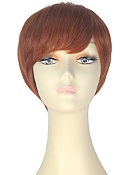 cheap -Synthetic Wig Straight Red Women's Capless Carnival Wig Halloween Wig Party Wig Lolita Wig Natural Wigs Cosplay Wig Short Synthetic Hair