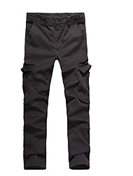 cheap -Men's Hiking Cargo Pants Outdoor Windproof, Wearable Winter Pants / Trousers Multisport / Stretchy