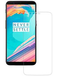 Недорогие -OnePlusScreen ProtectorOnePlus 5T 2.5D закругленные углы Защитная пленка для экрана 2 штs Закаленное стекло