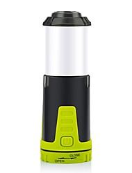 Недорогие -PJ7004 Походные светильники и лампы Светодиодная лампа LED излучатели 90 lm Автоматический Режим освещения с батарейками Простой Походы / туризм / спелеология Зеленый