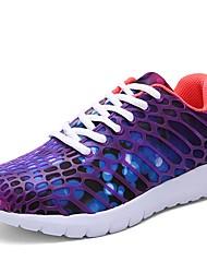 economico -Per uomo Suole leggere Retato / PU (Poliuretano) Autunno / Inverno Comoda scarpe da ginnastica Corsa Viola / Fucsia