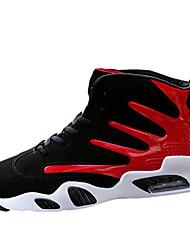 Недорогие -Муж. обувь Полиуретан Весна Осень сутулятся сапоги Удобная обувь Спортивная обувь Для баскетбола Черно-белый Черный / Красный Черный /