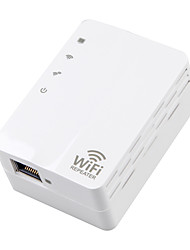 cheap -AD-607US 300M Office Home Wireless Network Repeater Wifi Signal Amplifier American Plugs