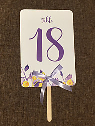 cheap -Bow(s) Art Paper Table Number Cards Classic 10