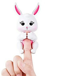 Brinquedos de Dedo Animais Eletrônicos Cone do dedo Brinquedos Rabbit Animais Voz Sensor de toque Novo Design Adulto 1 Peças