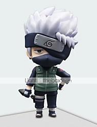 economico -action figures anime ispirate a naruto hatake kakashi pvc 17.5 * 8 * 21 cm modello giocattoli bambola giocattolo