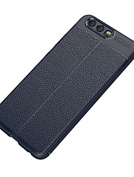 preiswerte -Hülle Für Huawei P10 Lite P10 Mattiert Geprägt Rückseitenabdeckung Volltonfarbe Weich TPU für P10 Plus P10 Lite P10