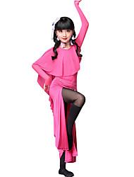 economico -dobbiamo abiti da danza del ventre spaccati divise in misto poliestere per bambini vestiti di danza del ventre