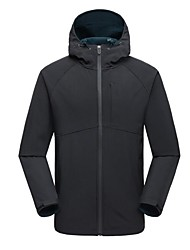 cheap -Men's Hiking Fleece Jacket Outdoor Keep Warm Windproof Top Single Slider Casual Camping Running