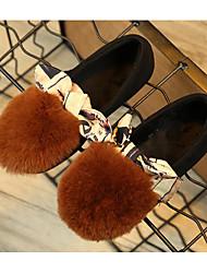 economico -Da ragazzo Scarpe Pelle nubuck Inverno Autunno Comoda Scarpe da cerimonia per bambine Mocassini e Slip-Ons per Casual Nero Verde Cammello