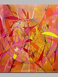 Pintados à mão Abstrato Modern Tela Pintura a Óleo Decoração para casa 1 Painel