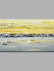 preiswerte -Handgemalte Nautisch Horizontal,Modern Leinwand Hang-Ölgemälde Haus Dekoration Ein Panel