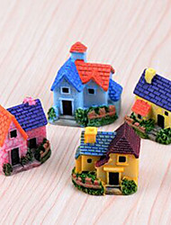 cheap -Fairytale Theme Houses Vintage Theme Polyresin Resin Cartoon,Single Decorative Accessories