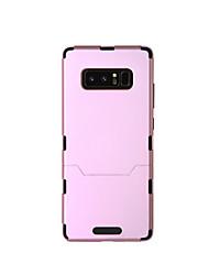 Capinha Para Samsung Galaxy NNote 8 Antichoque Corpo Inteiro Côr Sólida Rígida TPU para Note 8