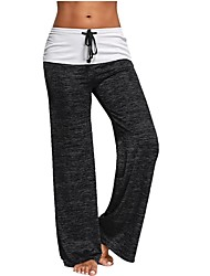 cheap -Women's Running Pants Breathability Pants / Trousers Yoga Pilates Gym Cotton Loose Grey Blue Black XXL XL L M