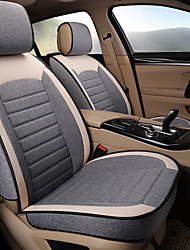 cheap -Car Seat Cushions Seat Cushions Linen Fabrics For universal All years Universal General Motors
