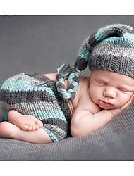 cheap -Baby Boys' Daily Print Clothing Set, Cotton All Seasons Simple Sleeveless Blue