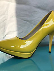 Недорогие -Для женщин Обувь Полиуретан Синтетика Дерматин Весна Лето Осень Зима Удобная обувь Оригинальная обувь Обувь на каблуках Для прогулок На