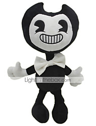 cheap -30cm Ghost Bendy and The Ink Machine Classic Theme Stuffed Animal Plush Toy Cute For Children Animals Silicone Gift 1pcs