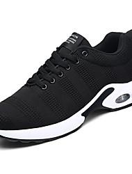 abordables -Homme Chaussures Polyuréthane Printemps / Automne Confort Chaussures d'Athlétisme Marche Noir