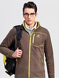 cheap -Men's Hiking Fleece Jacket Outdoor Winter Keep Warm Top Single Slider Running/Jogging Fishing Casual Camping