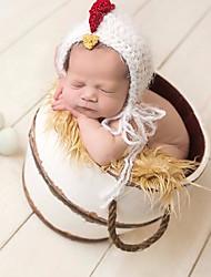 Baby Unisex Tøjsæt Daglig Ensfarvet,Bomuld Alle årstider Uden ærmer Simple Hvid