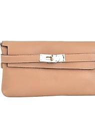 preiswerte -Damen Taschen Kuhfell Unterarmtasche Knöpfe Tasche für Normal Büro & Karriere Ganzjährig Rote Gelb Khaki
