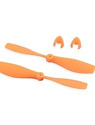 Недорогие -краб kingdom® diy модель самолета детали оранжевый пропеллер 75 * 2 мм 5 пар